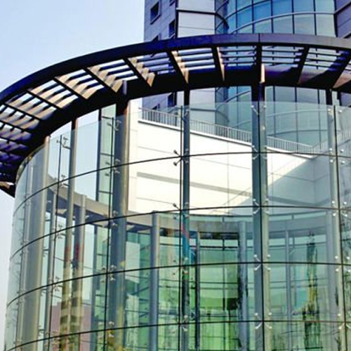 Glazed Glass Curtain Walling Systems In London